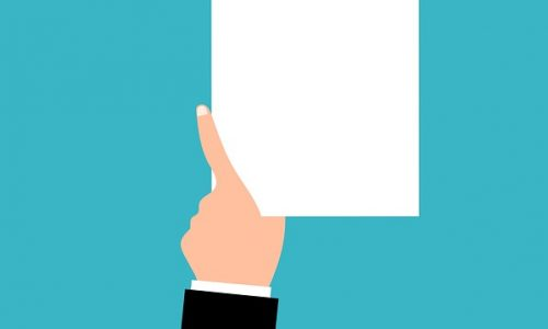 Papier représentant les démarches pour le prêt immobilier et l'aide au logement